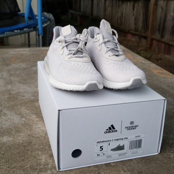 great fit c7167 4c2e4 Adidas alphabounce 1 reigning champ NWT